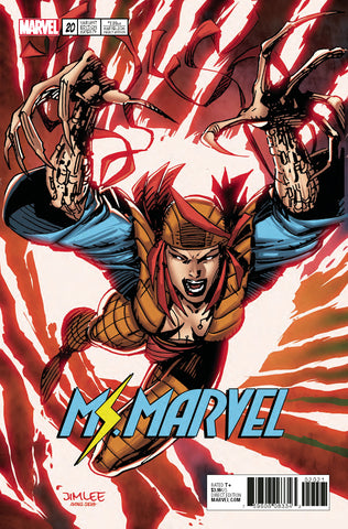 MS MARVEL #20 X-MEN TRADING CARD VARIANT