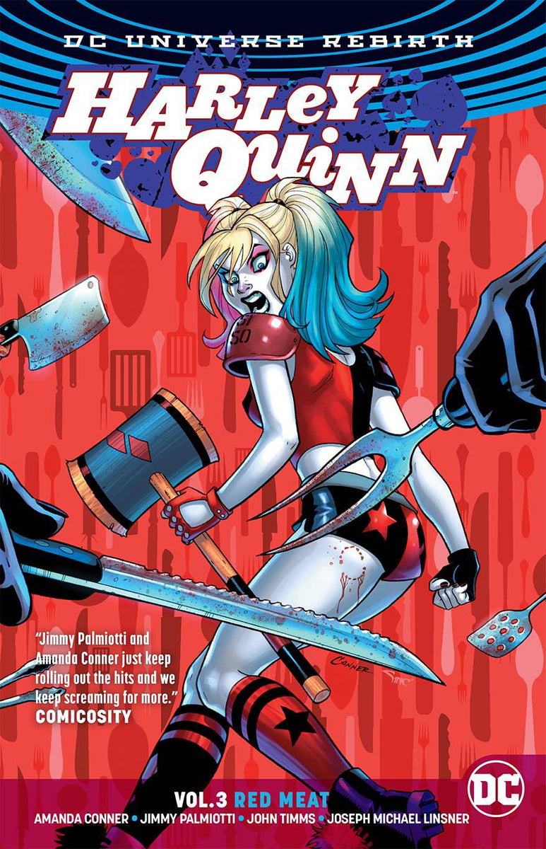 Harley Quinn  Rebirth  Tpb Vol 03 Red Meat  U2013 The Comic Book Shoppe