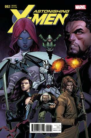 ASTONISHING X-MEN #2 STEGMAN VARIANT