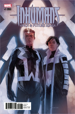 INHUMANS ONCE AND FUTURE KINGS #1 1/25 NOTO CHARACTER VARIANT