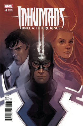 INHUMANS ONCE AND FUTURE KINGS #1 1/10 NOTO VARIANT