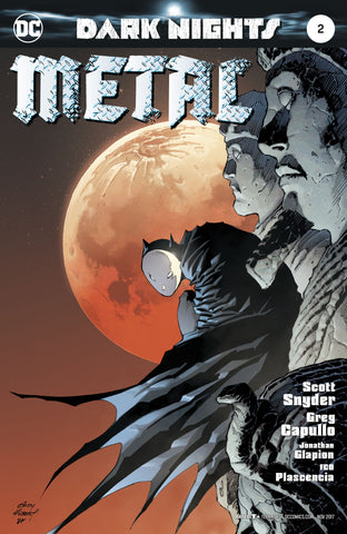 DARK NIGHTS METAL #2 KUBERT VARIANT