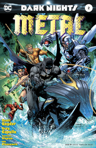 DARK NIGHTS METAL #2 LEE VARIANT