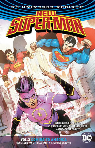 NEW SUPER-MAN TPB VOL 02 COMING TO AMERICA