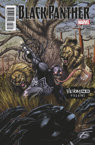 BLACK PANTHER #18 KLAW VENOMIZED VARIANT