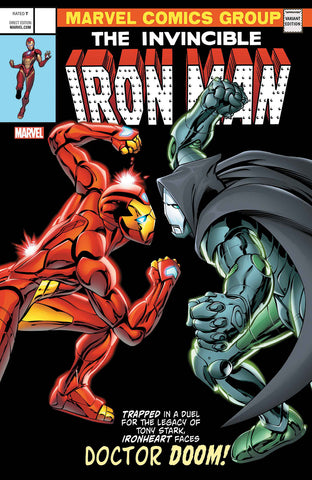 INVINCIBLE IRON MAN #593 DAVIS LENTICULAR VARIANT