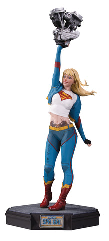 GOTHAM CITY GARAGE SUPERGIRL