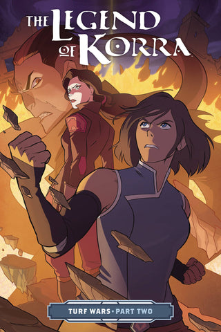 AVATAR: THE LEGEND OF KORRA TPB TURF WARS PART 2