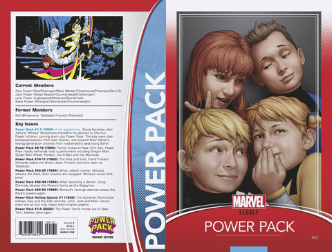 POWER PACK #63 CHRISTOPHER TRADING CARD VARIANT