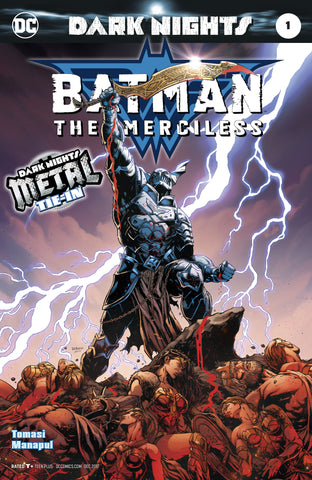 BATMAN THE MERCILESS #1 2ND PTG