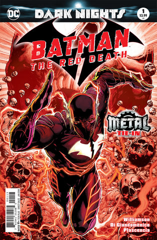 BATMAN THE RED DEATH #1 3RD PTG