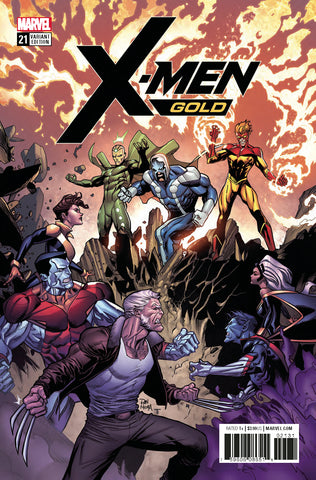 X-MEN GOLD #21 1/15 MORA VARIANT