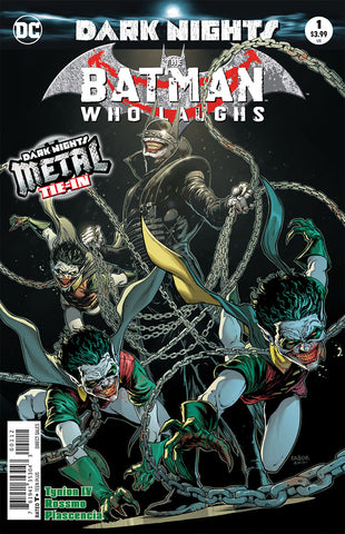BATMAN WHO LAUGHS #1 2ND PTG