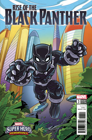 RISE OF BLACK PANTHER #3 MARVEL SUPER HEROES ADVENTURE VARIANT