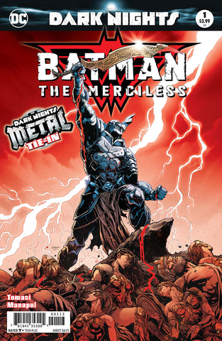 BATMAN THE MERCILESS #1 3RD PTG