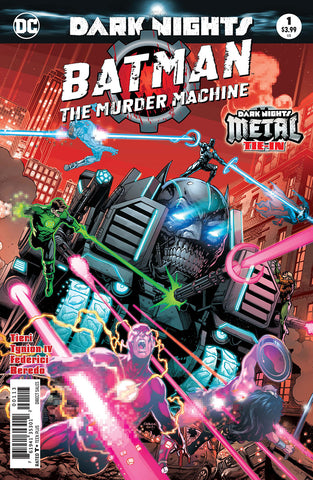 BATMAN THE MURDER MACHINE #1 3RD PTG