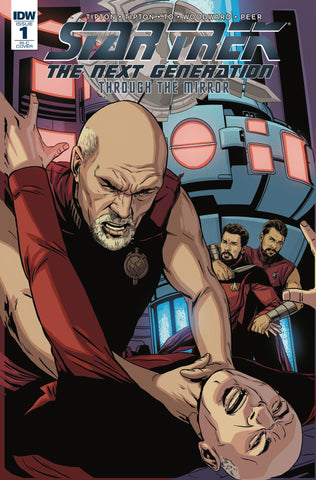 STAR TREK TNG THROUGH THE MIRROR #1 1/100 VARIANT