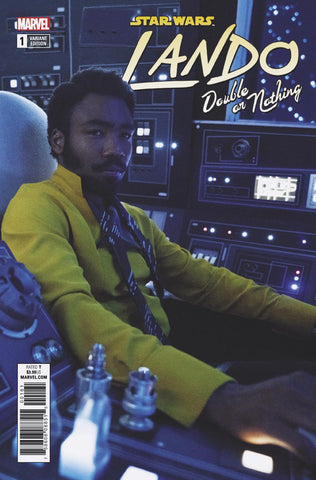 STAR WARS LANDO DOUBLE OR NOTHING #1 1/10 MOVIE VARIANT