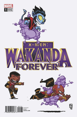 WAKANDA FOREVER X-MEN #1 YOUNG VARIANT