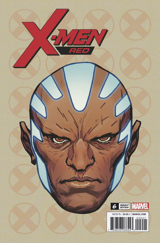 X-MEN RED #6 1/10 CHAREST HEADSHOT VARIANT