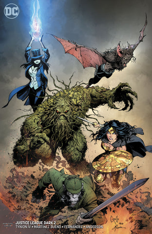 JUSTICE LEAGUE DARK #2 VARIANT
