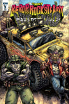 TEENAGE MUTANT NINJA TURTLES BEBOP ROCKSTEADY HIT THE ROAD #1 1/100 VARIANT