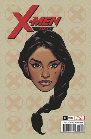 X-MEN RED #8 1/10 CHAREST HEADSHOT VARIANT