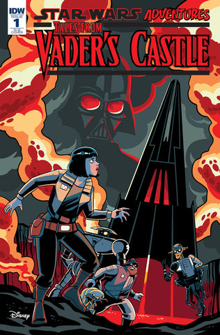 STAR WARS TALES FROM VADER'S CASTLE #1 1/100 VARIANT