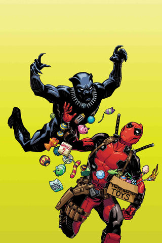 BLACK PANTHER VS DEADPOOL #1 HAMNER VARIANT