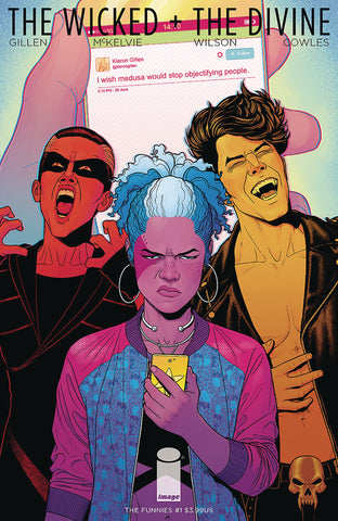 THE WICKED + THE DIVINE FUNNIES #1 (ONE-SHOT)