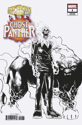INFINITY WARS GHOST PANTHER #1 1/10 RAMOS DESIGN VARIANT