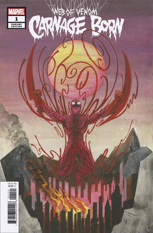 WEB OF VENOM CARNAGE BORN #1 BEDERMAN VARIANT