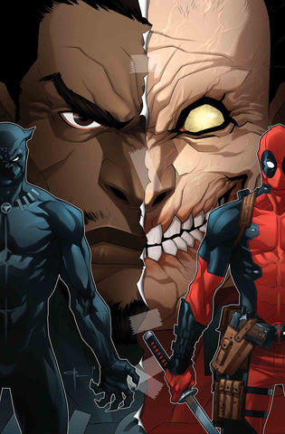 BLACK PANTHER VS DEADPOOL #3 YILDRIM VARIANT