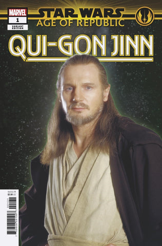 STAR WARS AGE OF REPUBLIC QUI-GON JINN #1 1/10 MOVIE VARIANT