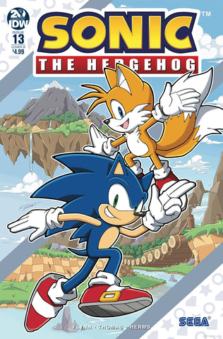 SONIC THE HEDGEHOG #13 VARIANT