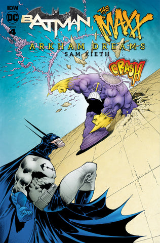 BATMAN THE MAXX ARKHAM DREAMS #4 VARIANT