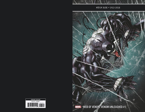 WEB OF VENOM UNLEASHED #1 BRADSHAW VARIANT