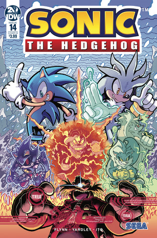 SONIC THE HEDGEHOG #14 VARIANT