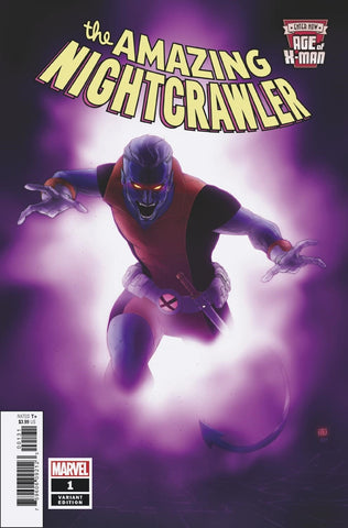 AGE OF X-MAN AMAZING NIGHTCRAWLER #1 PHAM VARIANT