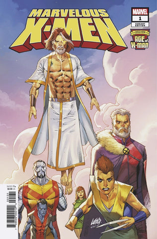 AGE OF X-MAN MARVELOUS X-MEN #1 1/50 LIEFELD VARIANT
