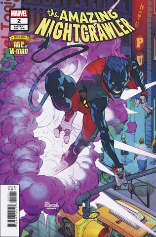 AGE OF X-MAN AMAZING NIGHTCRAWLER #2 PETROVICH VARIANT