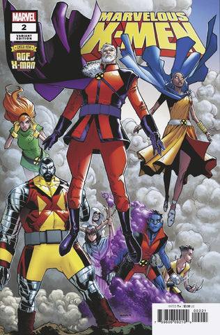 AGE OF X-MAN MARVELOUS X-MEN #2 RAMOS VARIANT