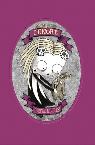 LENORE PURPLE NURPLES COLOR EDITION HARDCOVER