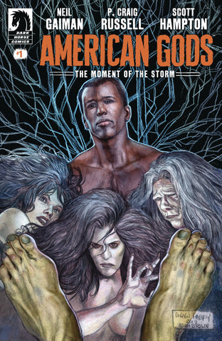 NEIL GAIMAN AMERICAN GODS MOMENT OF THE STORM #1