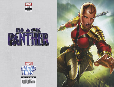 BLACK PANTHER #12 HEYJIN IM MARVEL BATTLE LINES VARIANT