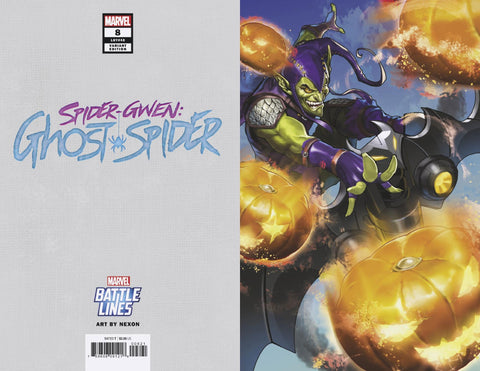 SPIDER-GWEN GHOST SPIDER #8 MARVEL BATTLE LINES VARIANT