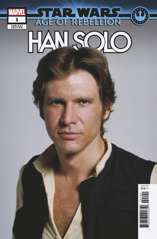 STAR WARS AGE OF REBELLION HAN SOLO #1 1/10 MOVIE VARIANT