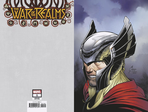 WAR OF THE REALMS #1 1/100 QUESADA VIRGIN VARIANT