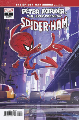SPIDER-MAN ANNUAL #1 1/10 ANIMATION VARIANT