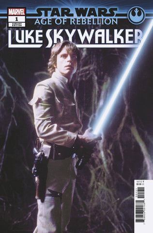 STAR WARS AGE OF REBELLION LUKE SKYWALKER #1 MOVIE VARIANT